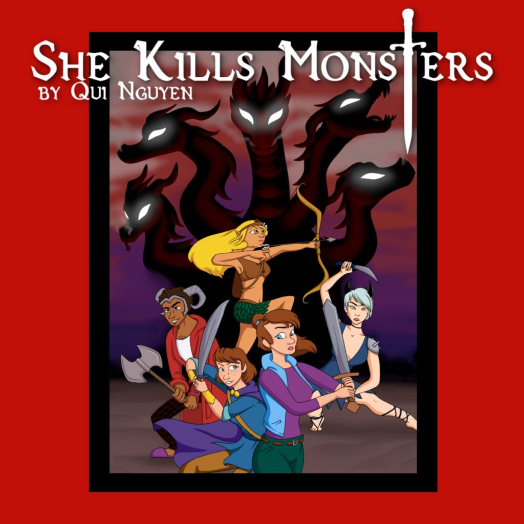 She Kill's Monsters poster