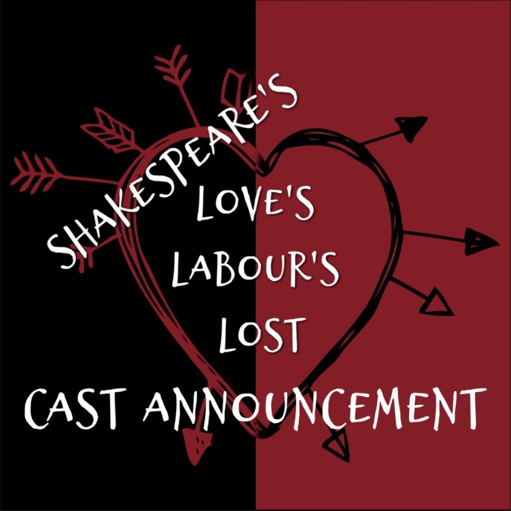 Shakespeare's Love's Labour's Lost Cast Announcement